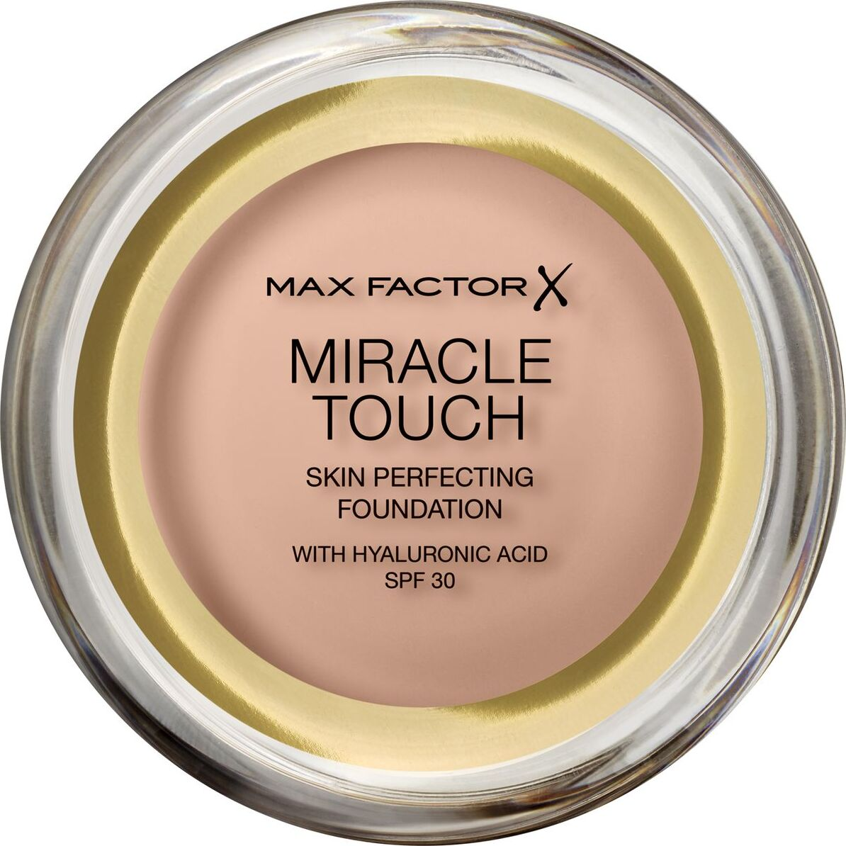 Тональная основа Max Factor Miracle Touch, SPF 30, тон 55 Blushing Beige, 11 мл основа под макияж max factor miracle prep colour correcting cooling тон green 30 мл