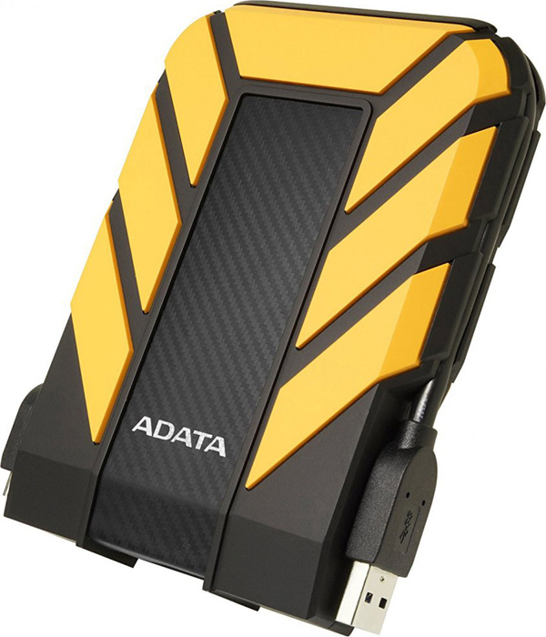 Внешний жесткий диск 4Tb ADATA HD710 Pro Yellow, AHD710P-4TU31-CYL диск здоровья pro star fit