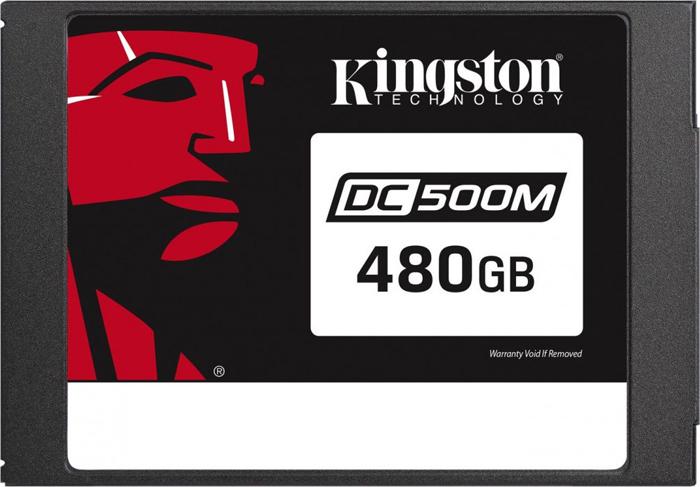 Твердотельный накопитель 480Gb SSD Kingston DC500M, SEDC500M/480G
