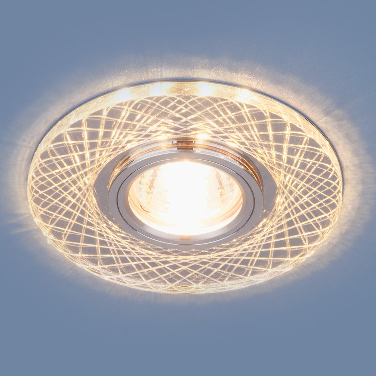 цена на Встраиваемый светильник Elektrostandard Точечный светодиодный 8091 MR16 SL/CH, G5.3