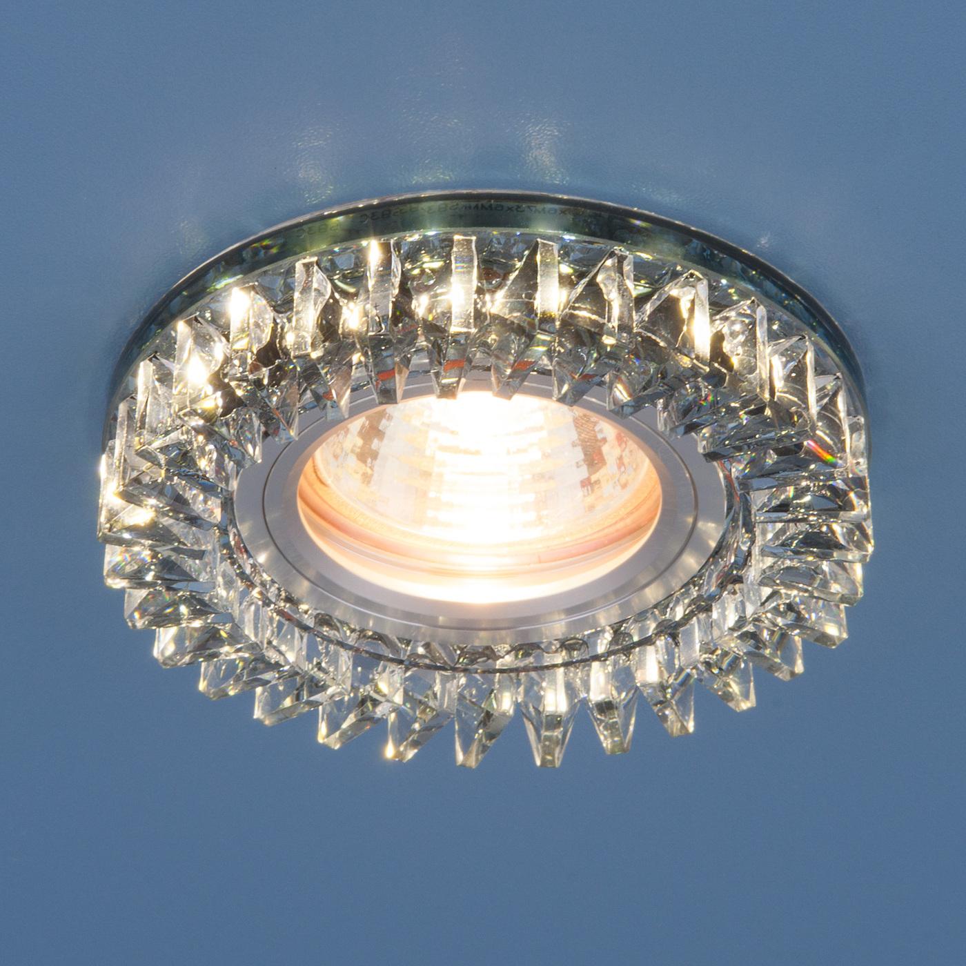 цены на Встраиваемый светильник Elektrostandard точечный с LED подсветкой 2216 MR16 SBK, G5.3 в интернет-магазинах