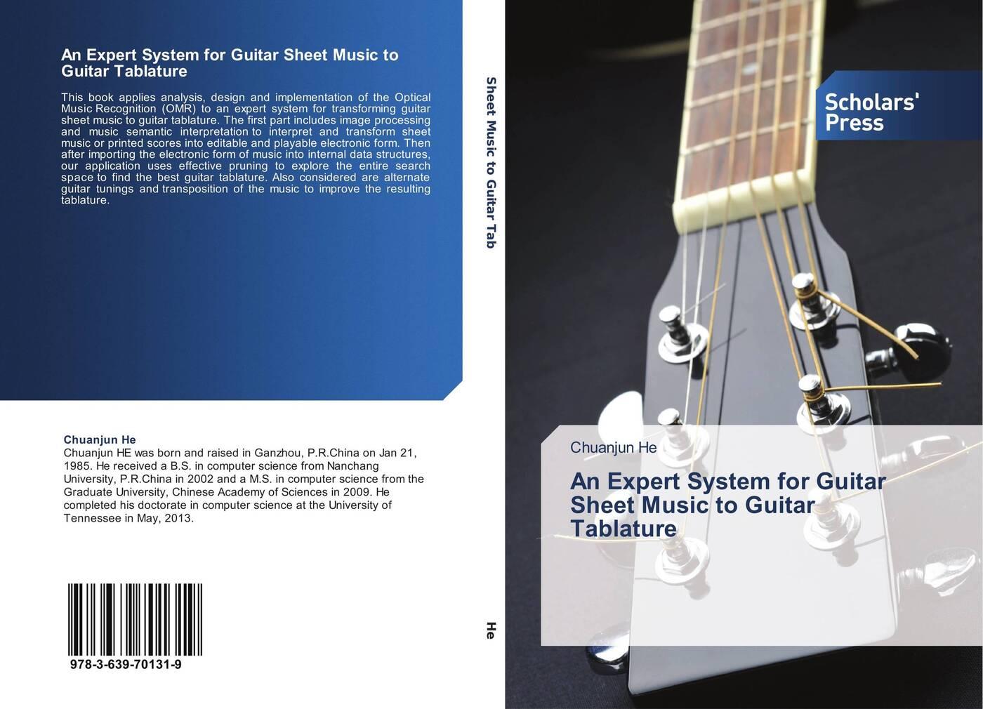 Chuanjun He An Expert System for Guitar Sheet Music to Guitar Tablature afanti music electric guitar amplifier amp 108