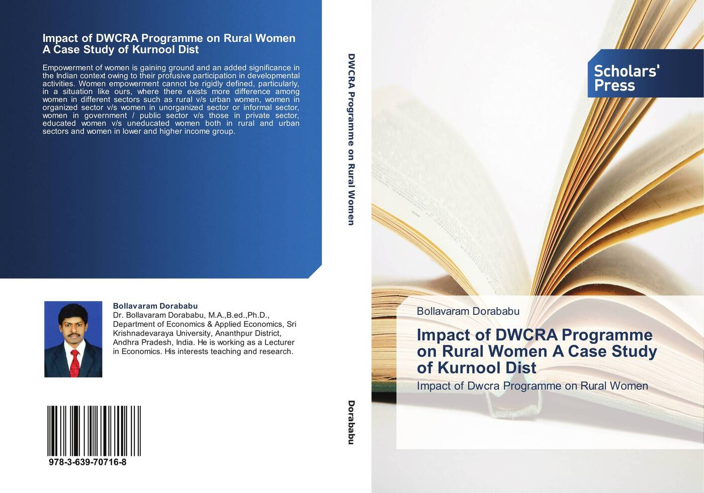 Bollavaram Dorababu Impact of DWCRA Programme on Rural Women A Case Study of Kurnool Dist women