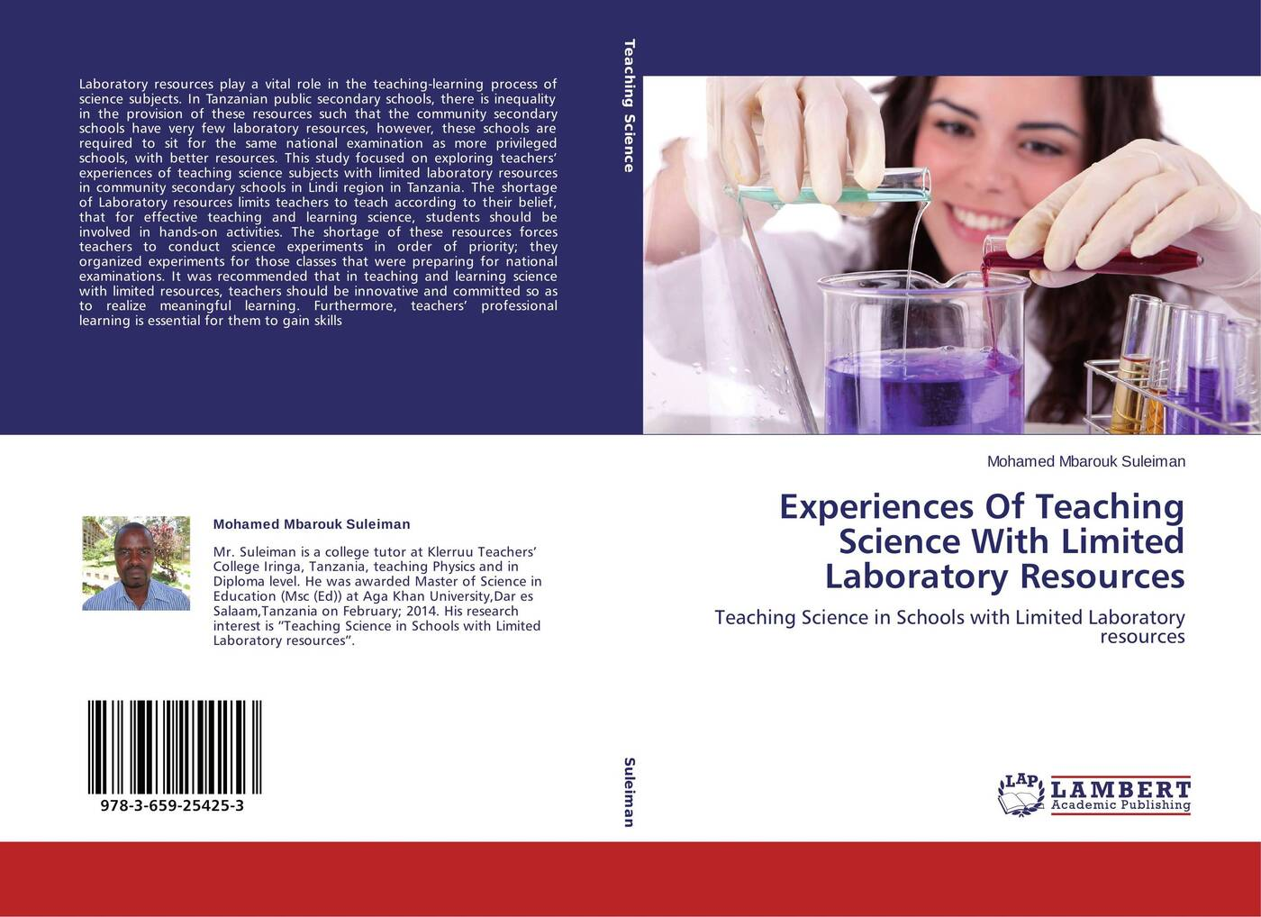 Mohamed Mbarouk Suleiman Experiences Of Teaching Science With Limited Laboratory Resources mohamed mbarouk suleiman teachers experiences of teaching science with limited laboratory resources
