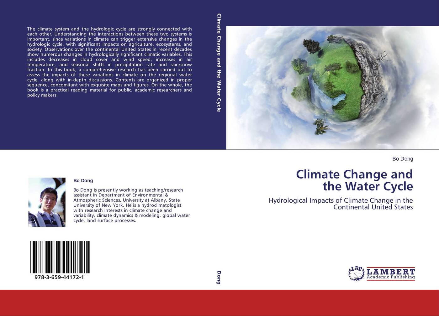 лучшая цена Bo Dong Climate Change and the Water Cycle