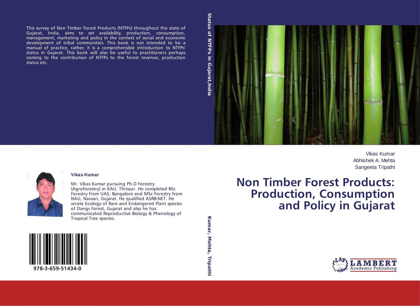 Vikas Kumar,Abhishek A. Mehta and Sangeeta Tripathi Non Timber Forest Products: Production, Consumption and Policy in Gujarat the introduction of the european advanced technology lisida company production lx 245b for non insulated cable links