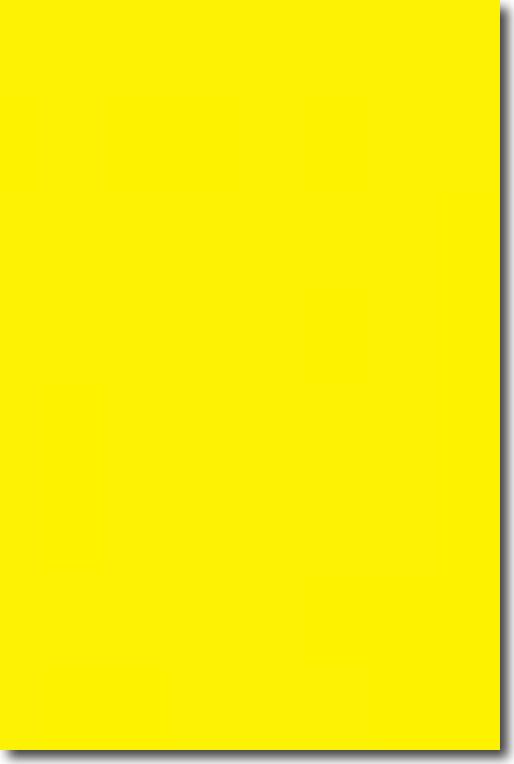 Фоам Darice листовой желтый (23 х 30 см. / 6 мм.)