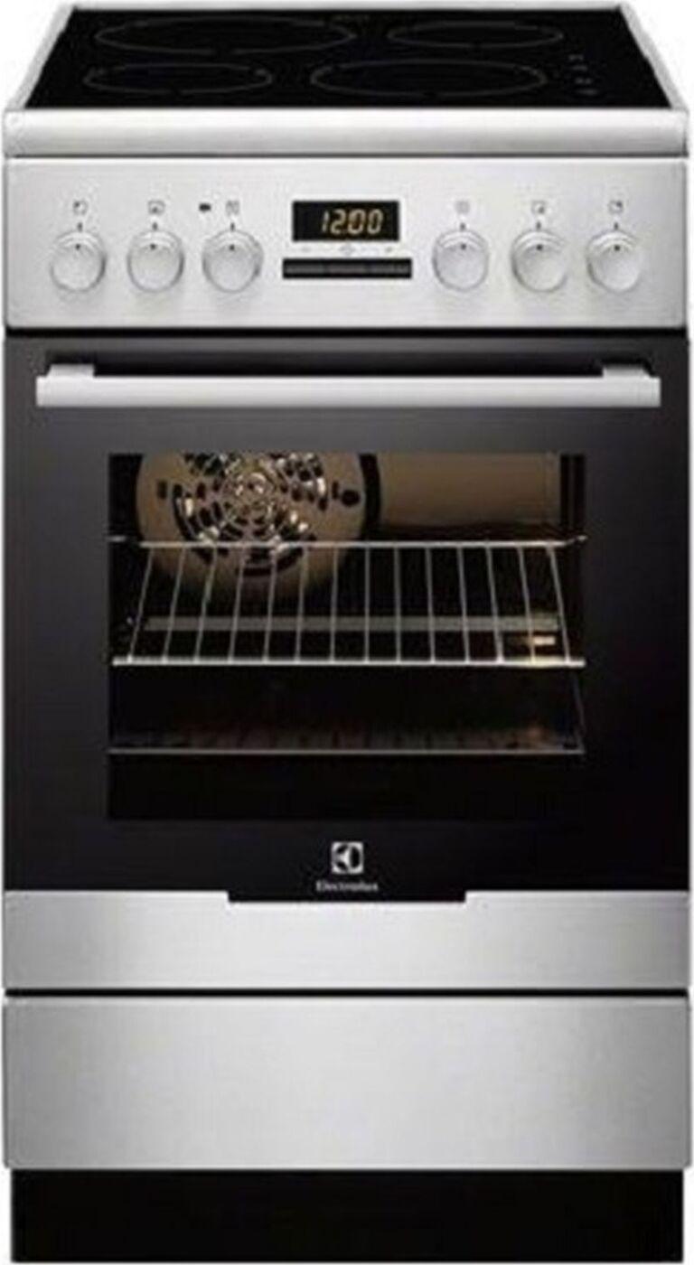 Кухонная плита Electrolux EKI 954901X, черный, серебристый