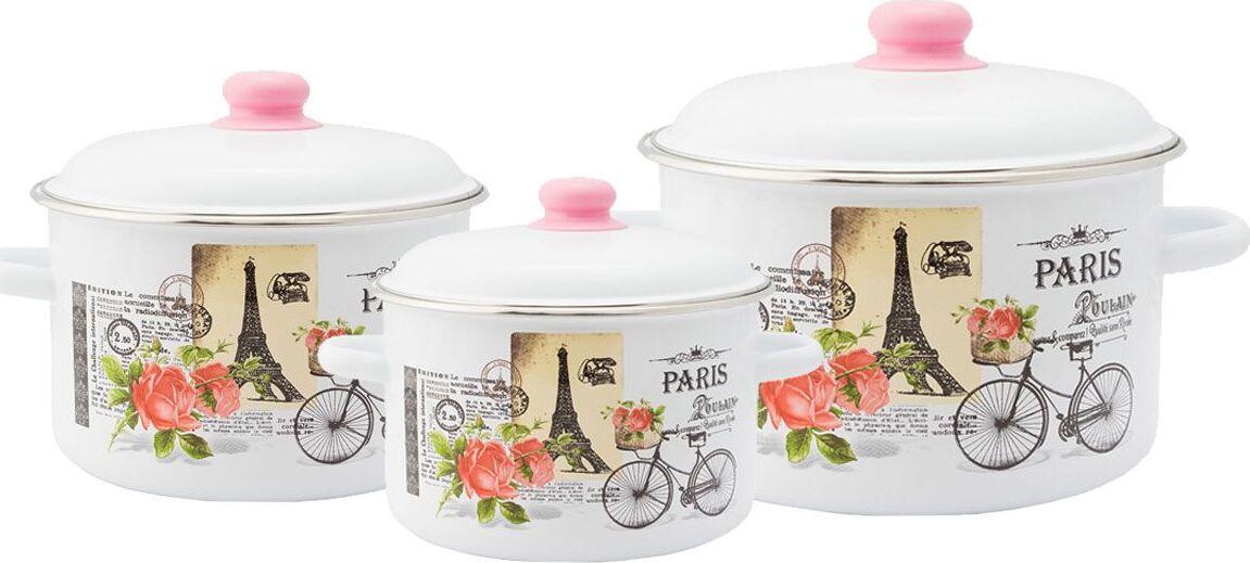 Набор посуды Appetite Париж 1KB191M №19 3 предмета