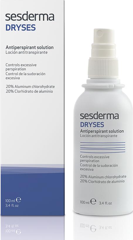 Лосьон-антиперспирант Sesderma Dryses, 100 мл лосьон для лица волос и тела 100 мл sesderma azelac