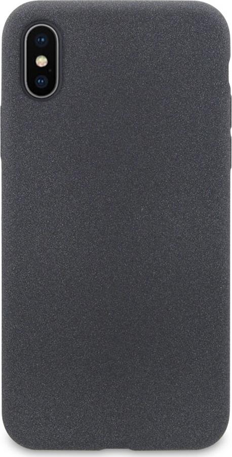 Чехол-накладка DYP Liquid Pebble для Apple iPhone X/XS темно-серый