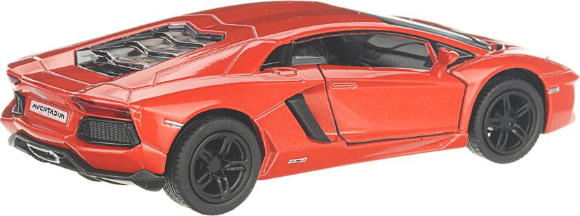 Детская инерционная металлическая машинка с открывающимися дверями, модель Lamborghini Aventador LP700-4