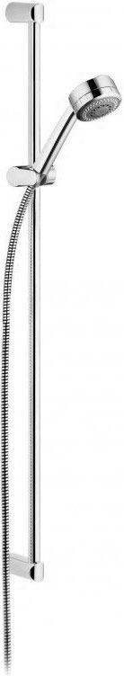 Душевой гарнитур KLUDI Zenta 3 вида струи, цвет черный / хром 6084086-00