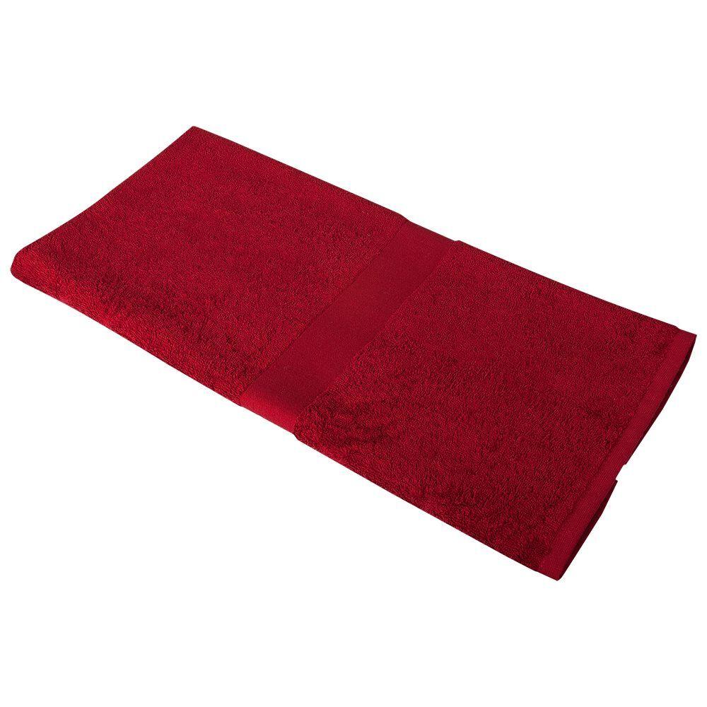 Полотенце махровое Soft Me Medium, бордовое