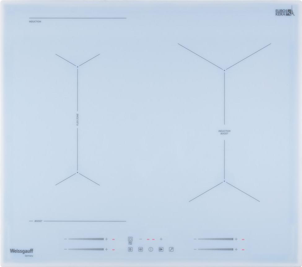 Варочная панель Weissgauff HI 643 WY, белый