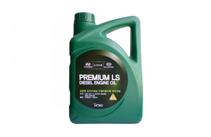 МАСЛО МОТОРНОЕ ПОЛУСИНТЕТИЧЕСКОЕ DIESEL ENGINE OIL PREMIUM LS 5W/30, 4L
