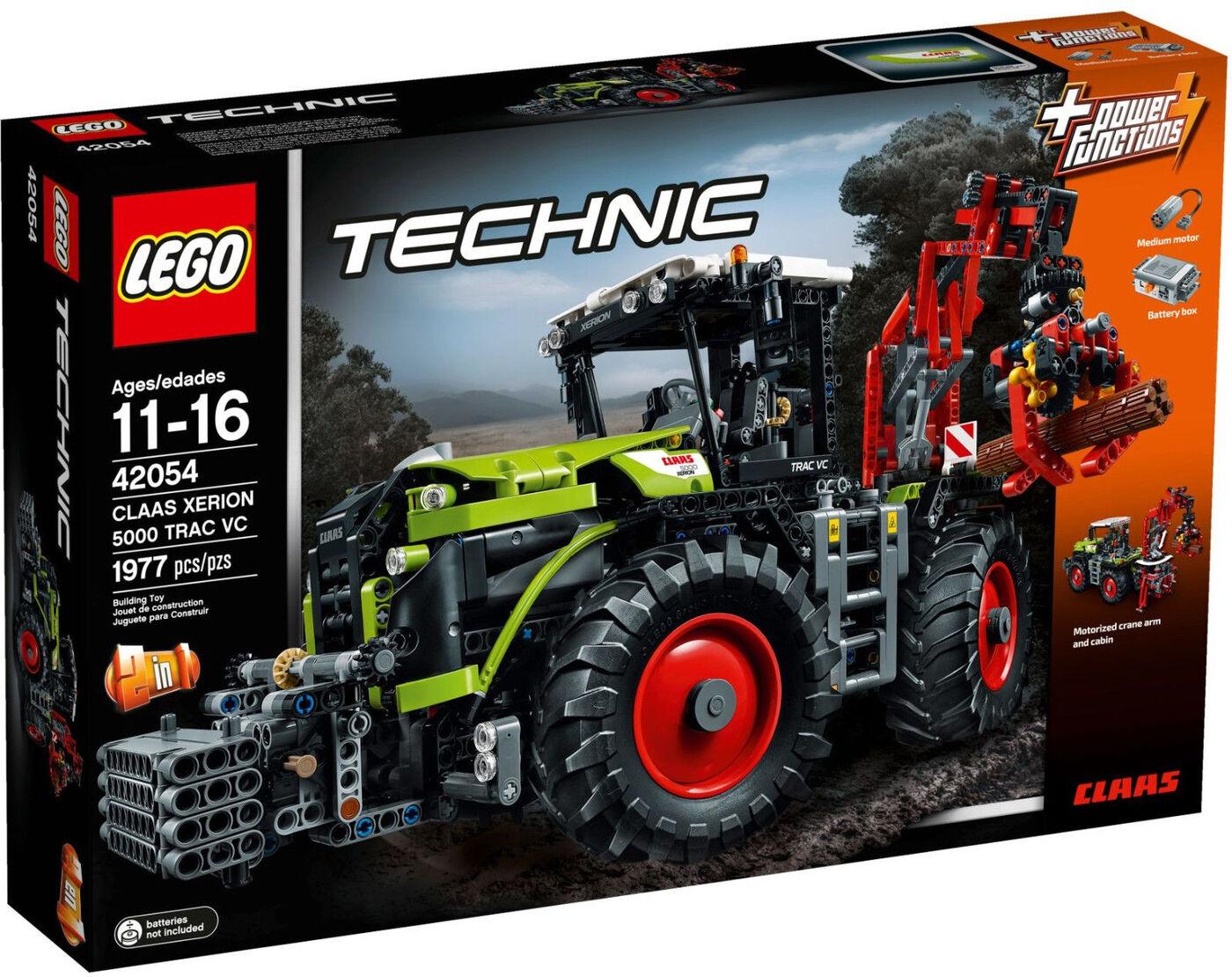 набор лего трактора открытых