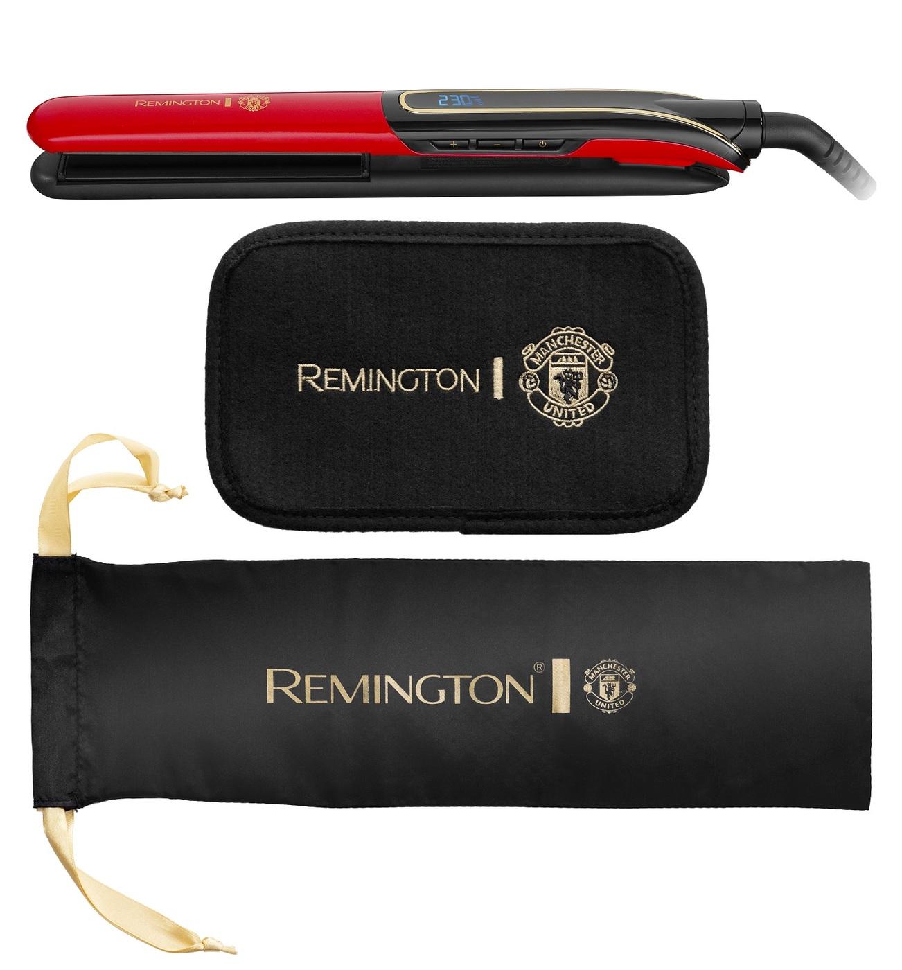Выпрямитель Remington S6755 Manchester United Sleek & Curl Expert