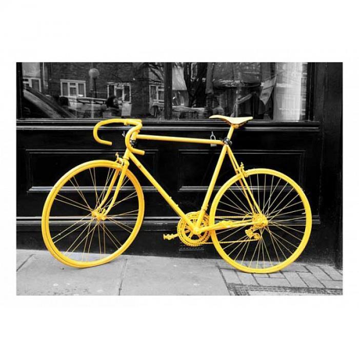 Картина (70х50 см) Желтый велосипед HE-101-835