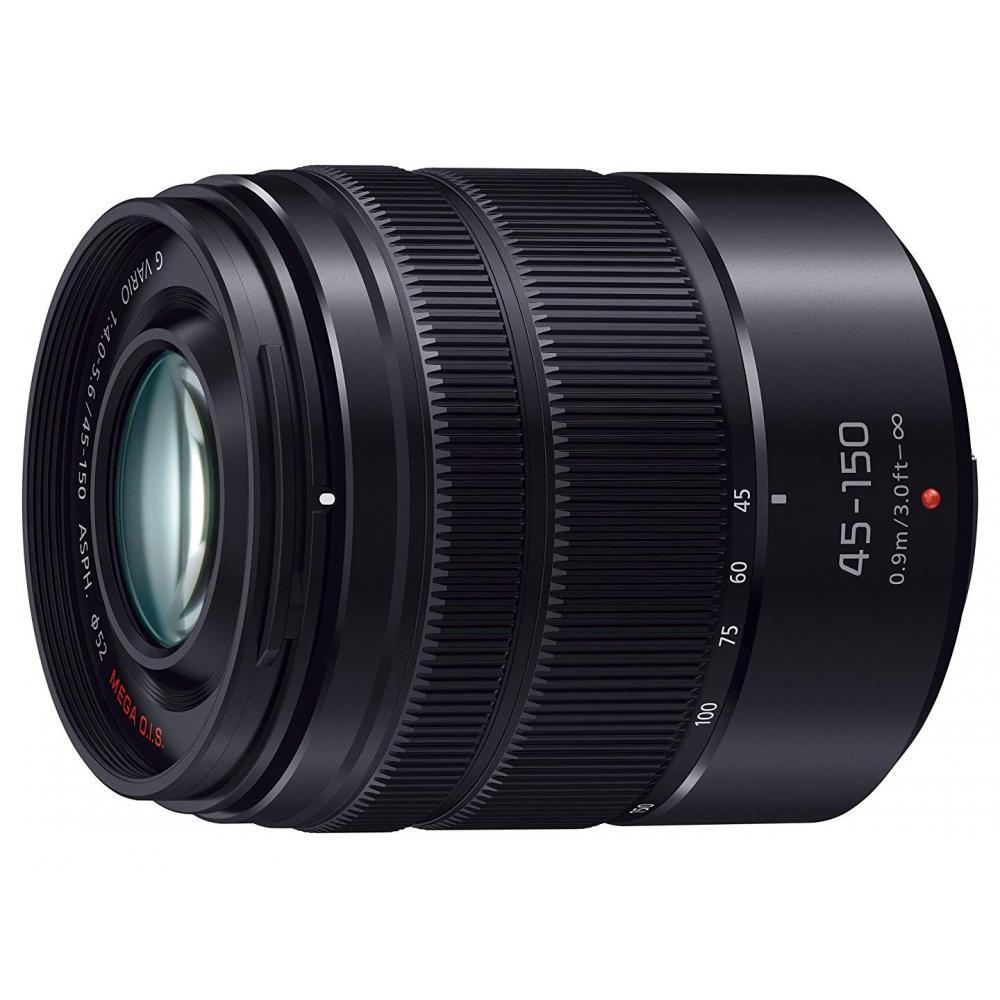 Lumix Panasonic telephoto zoom lens Micro Four Thirds G VARIO 45-150mm / F4.0-5.6 ASPH. / MEGA O.I.