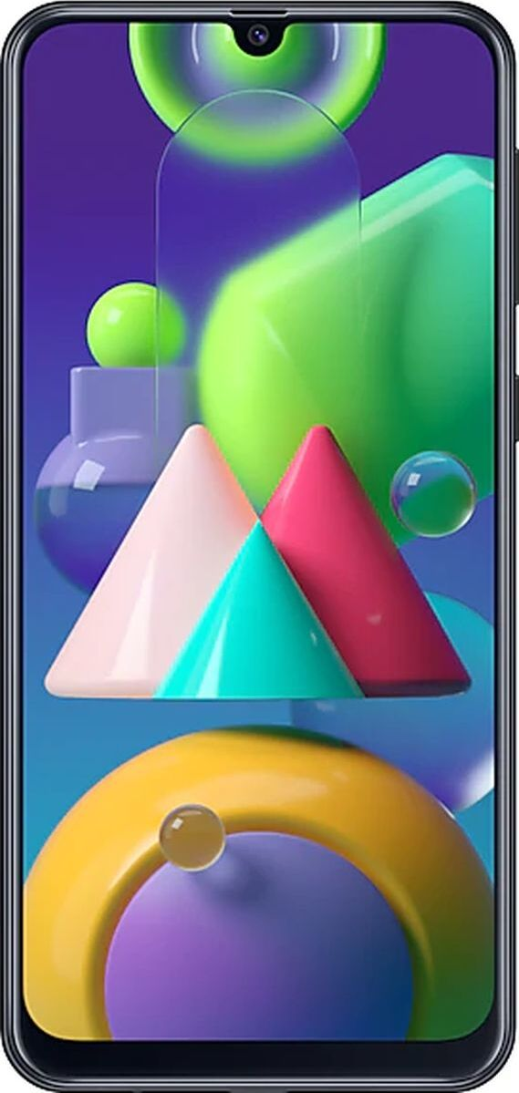 смартфон samsung galaxy m21 4/64gb, черный