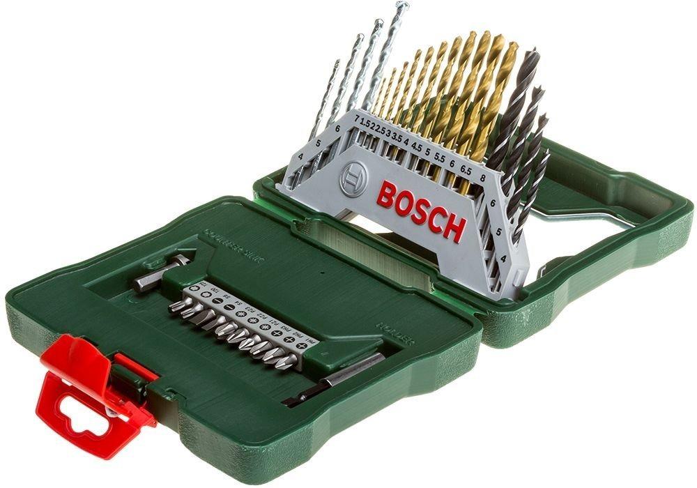Набор сверл и бит Bosch X-Line Titanium 2607019324