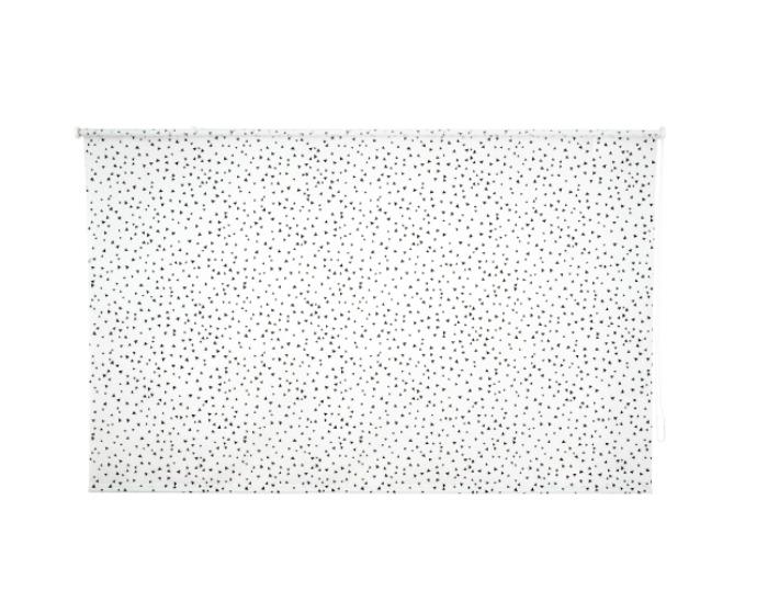 Штора рулонная, 200х175 см, цвет чёрно-белый-20365