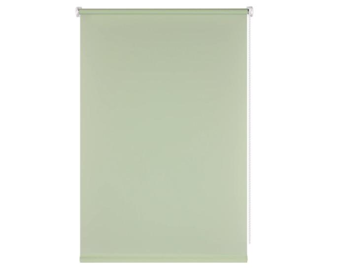 Штора рулонная, 40x160 см, цвет зеленый-20400