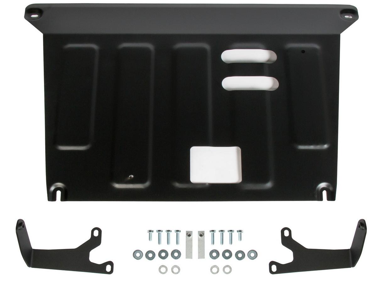 Защита картера и КПП AutoMax для Kia Seltos FWD/4WD 2020-н.в./Soul III 2019-н.в., сталь 1.5 мм, с крепежом, AM.2850.1 - Automax арт. AM.2850.1