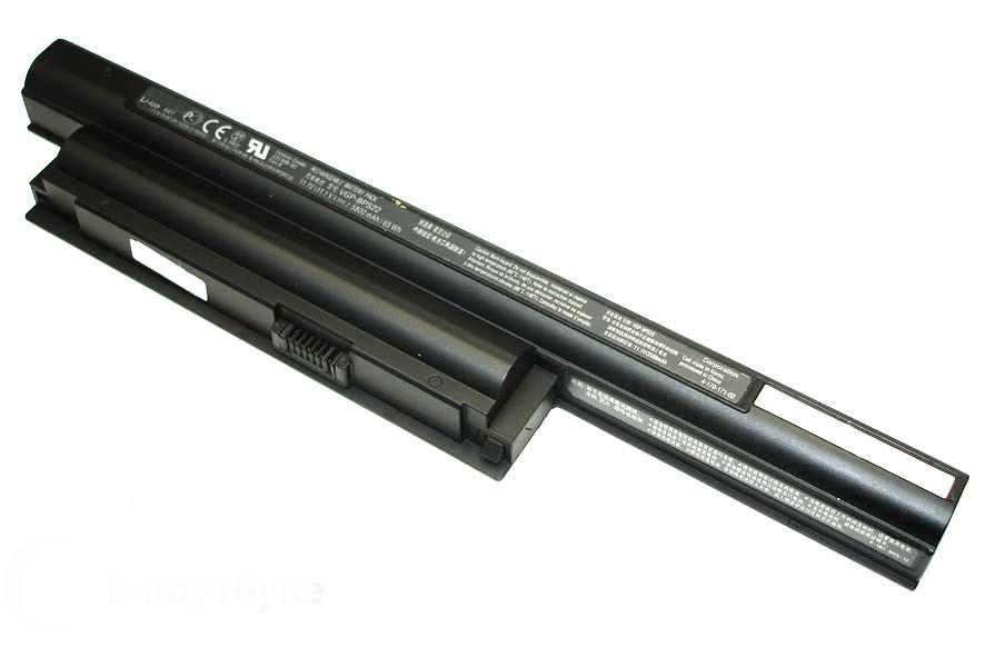 Аккумуляторная батарея для ноутбука Sony Vaio VPCE (VGP-BPS22) 3500mAh черная