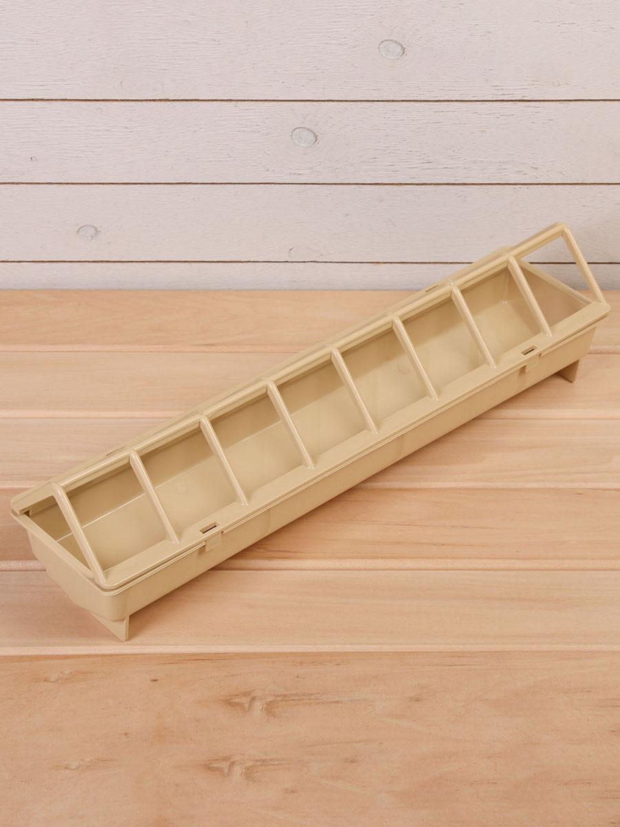 кормушка-поилка для бройлеров/птиц, 16 ячеек, лотковая, пластик