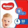 Huggies Подгузники Classic 7-18 кг (размер 4) 50 шт - изображение