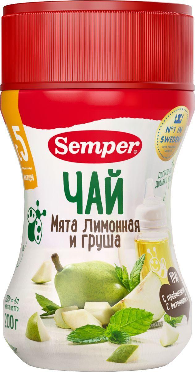 """Чай Semper """"Добрый вечер. Мята лимонная и груша"""", травяной, 200 г  #1"""