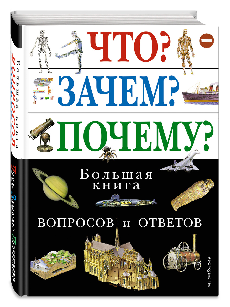 Что? Зачем? Почему? Большая книга вопросов и ответов | Нет автора  #1