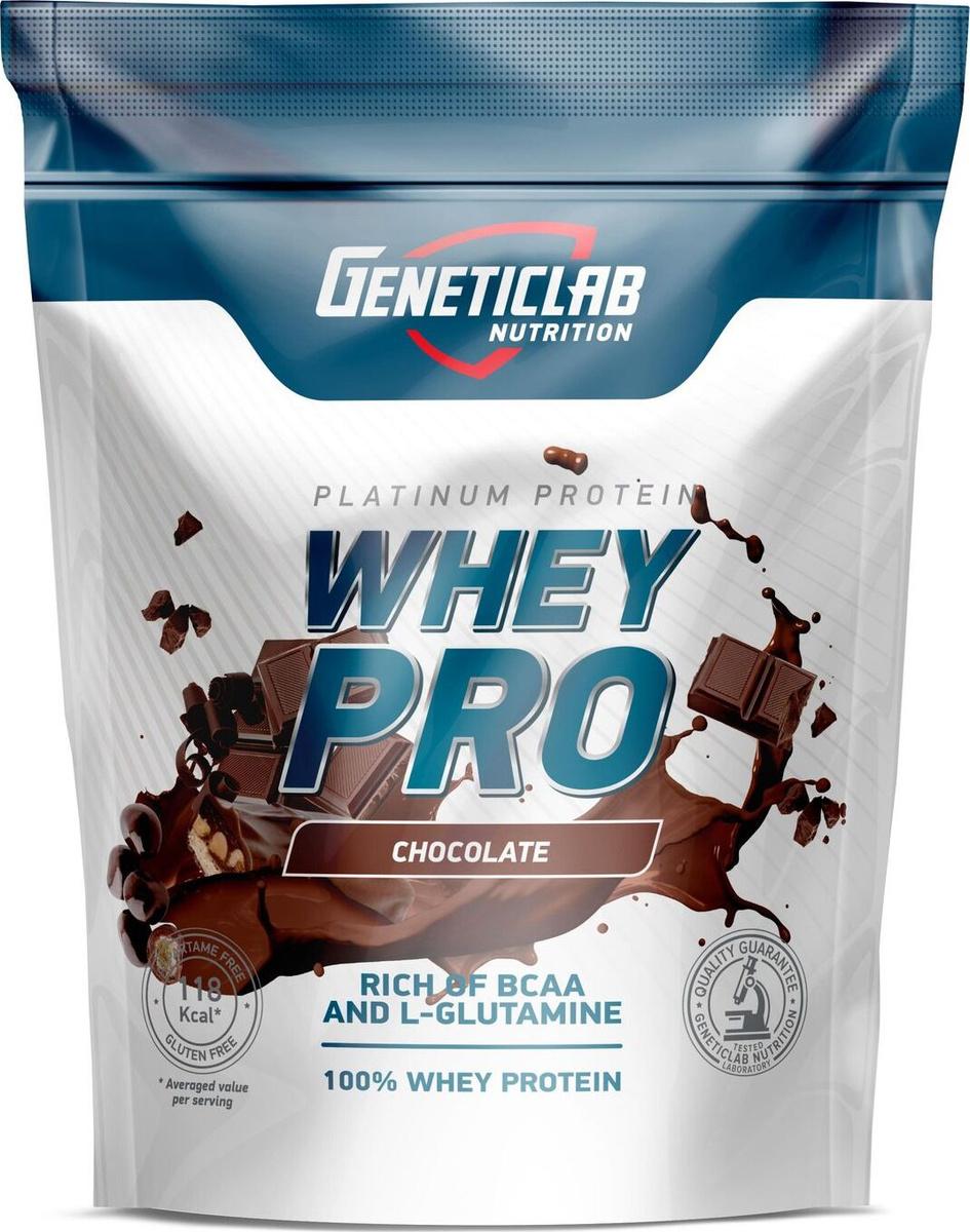 "Протеин сывороточный Geneticlab ""Whey Pro"", шоколад, 1 кг #1"