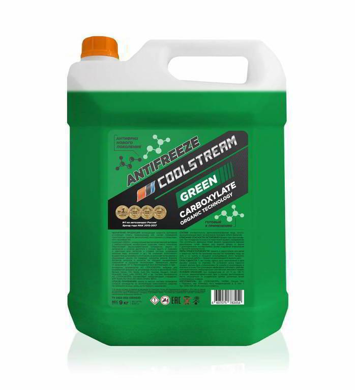 Антифриз Coolstream, CS-010913-GR, зеленый, 9 кг, дизайн в ассортименте  #1