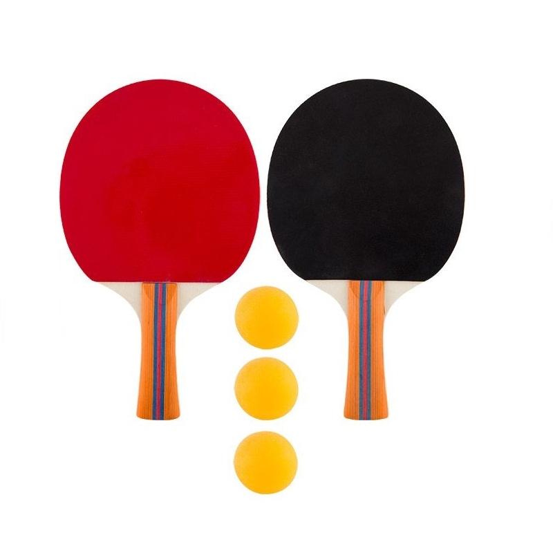 Набор для пинг-понга Ecos в сумочке (2 ракетки, 3 мячика) #1