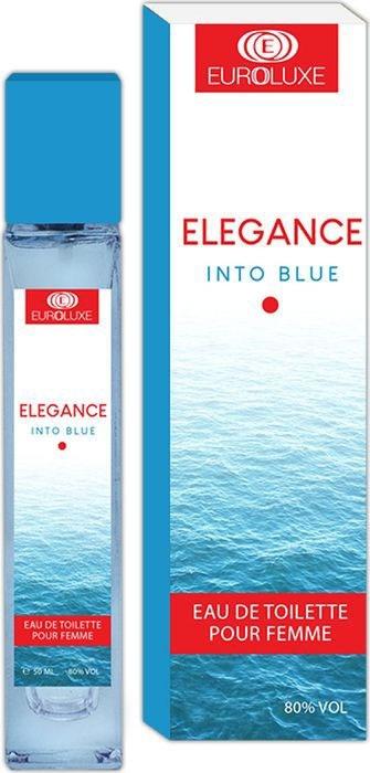 Euroluxe Elegance Into Blue Туалетная вода 50 мл #1