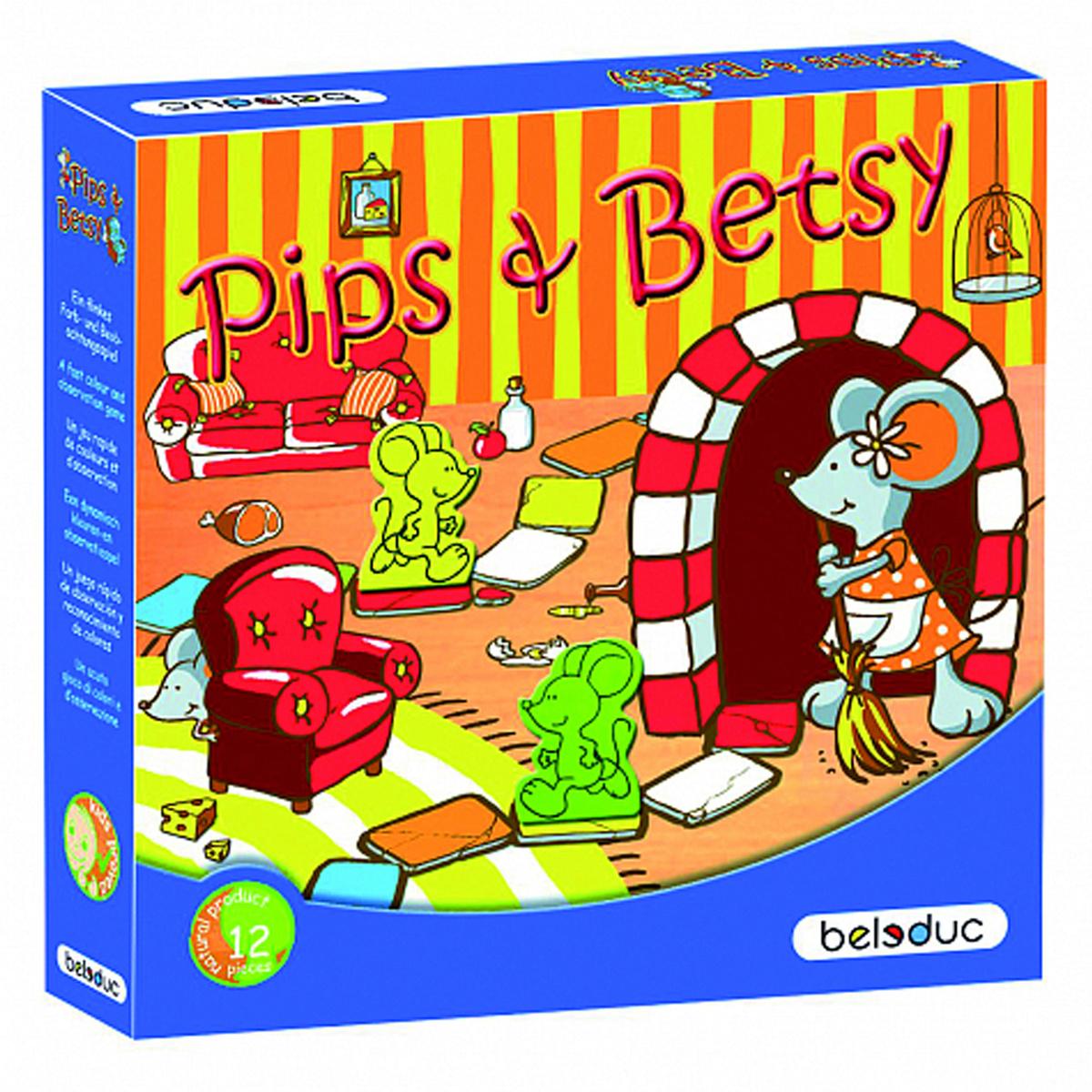 "Развивающая игра Beleduc ""Пипс и Бетси"" (340x340) #1"