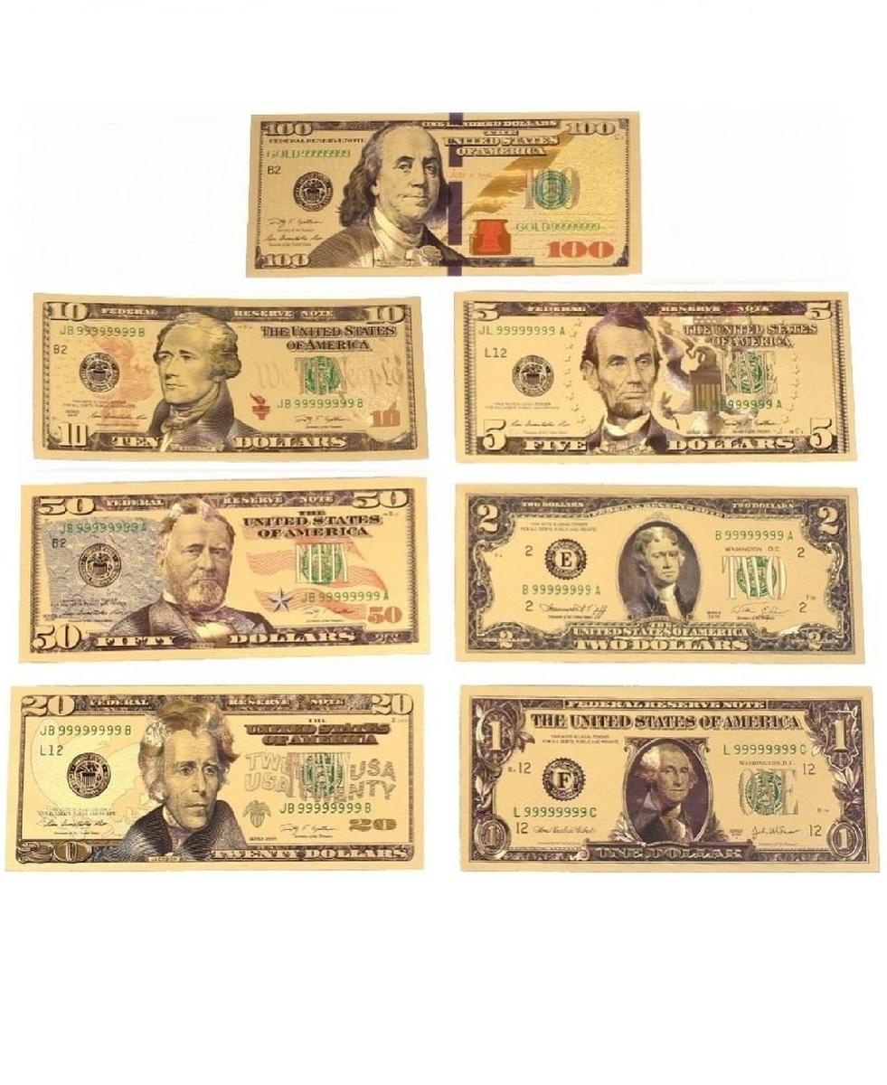 Набор сувенирных банкнот #1