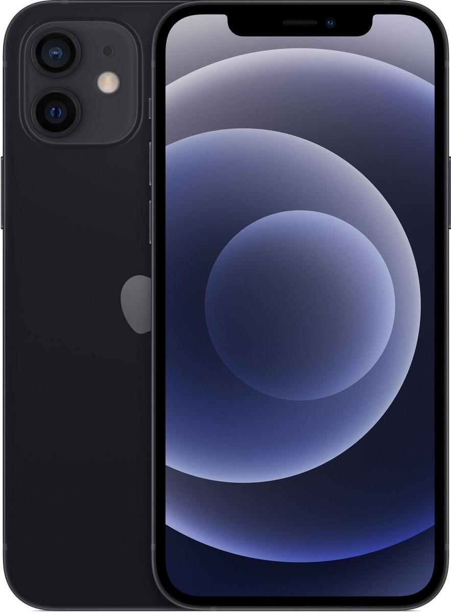 Смартфон Apple iPhone 12 64GB, черный #1