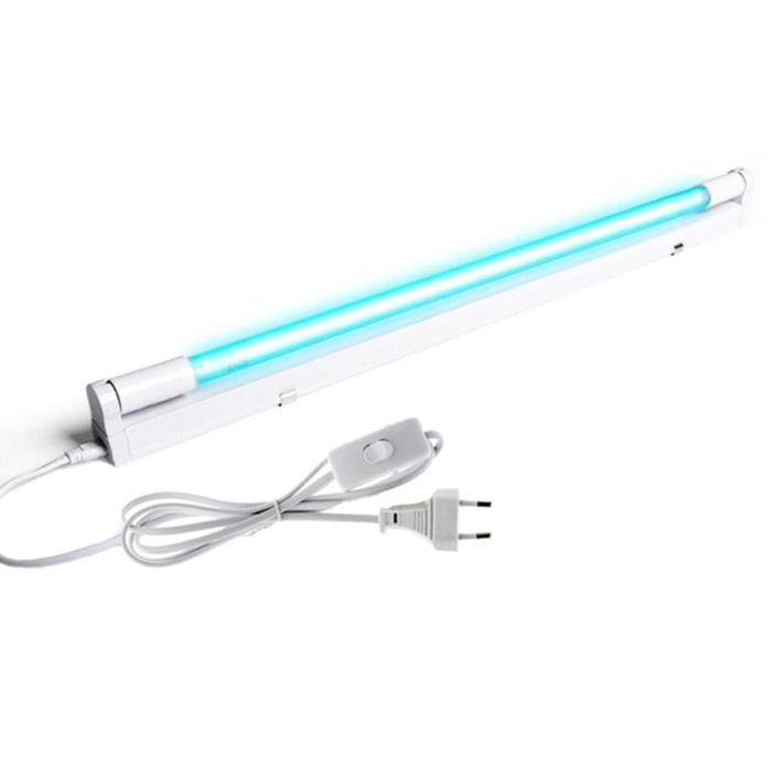 Кварцевая лампа открытого типа для дезинфекции: мощность 20W, цоколь G13, длина 589мм  #1