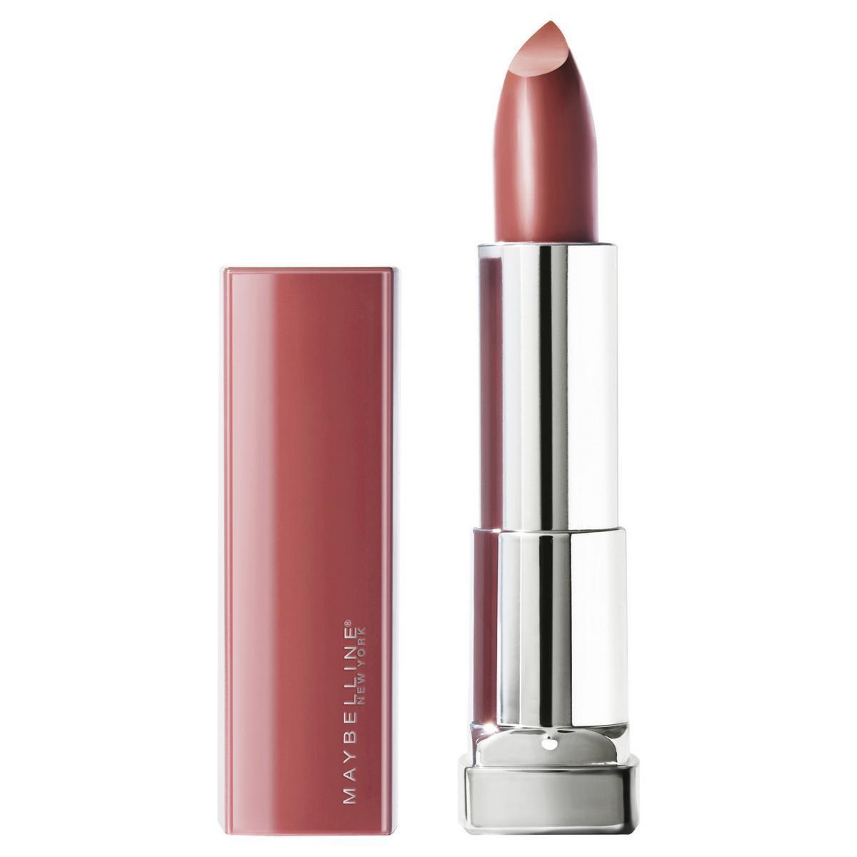 Maybelline New York Помада для губ Color Sensational Made For All, сатиновая, тон №373 mauve for me, #1