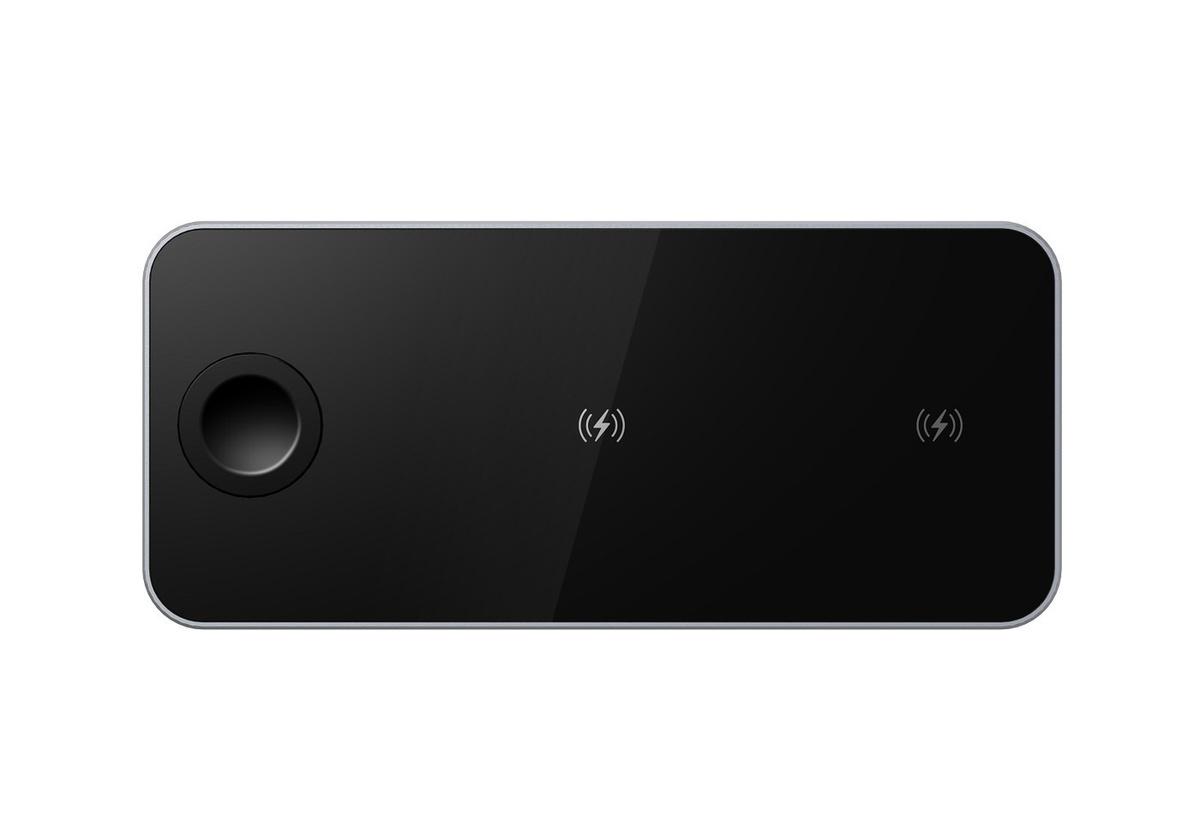 Беспроводная зарядная станция Prestigio Revolt A5 3 в 1 для Apple Iphone  #1