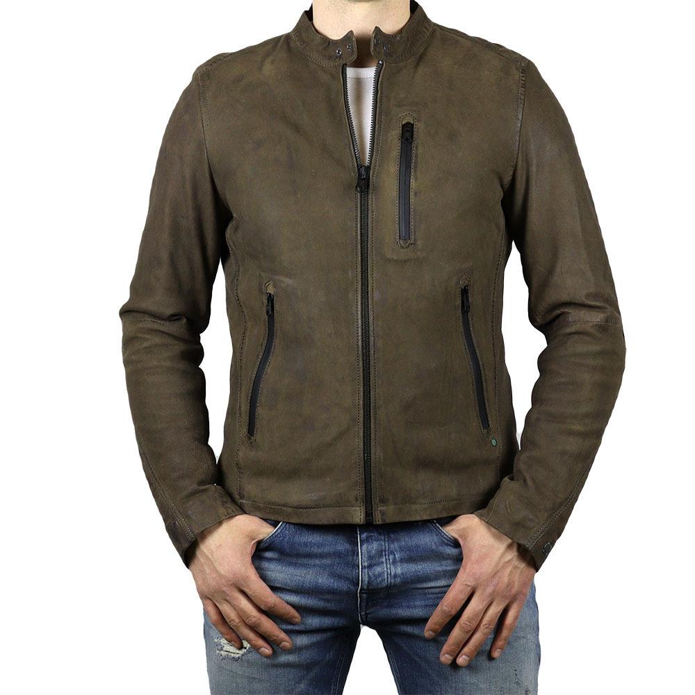 Кожаная куртка Сast-Iron #1