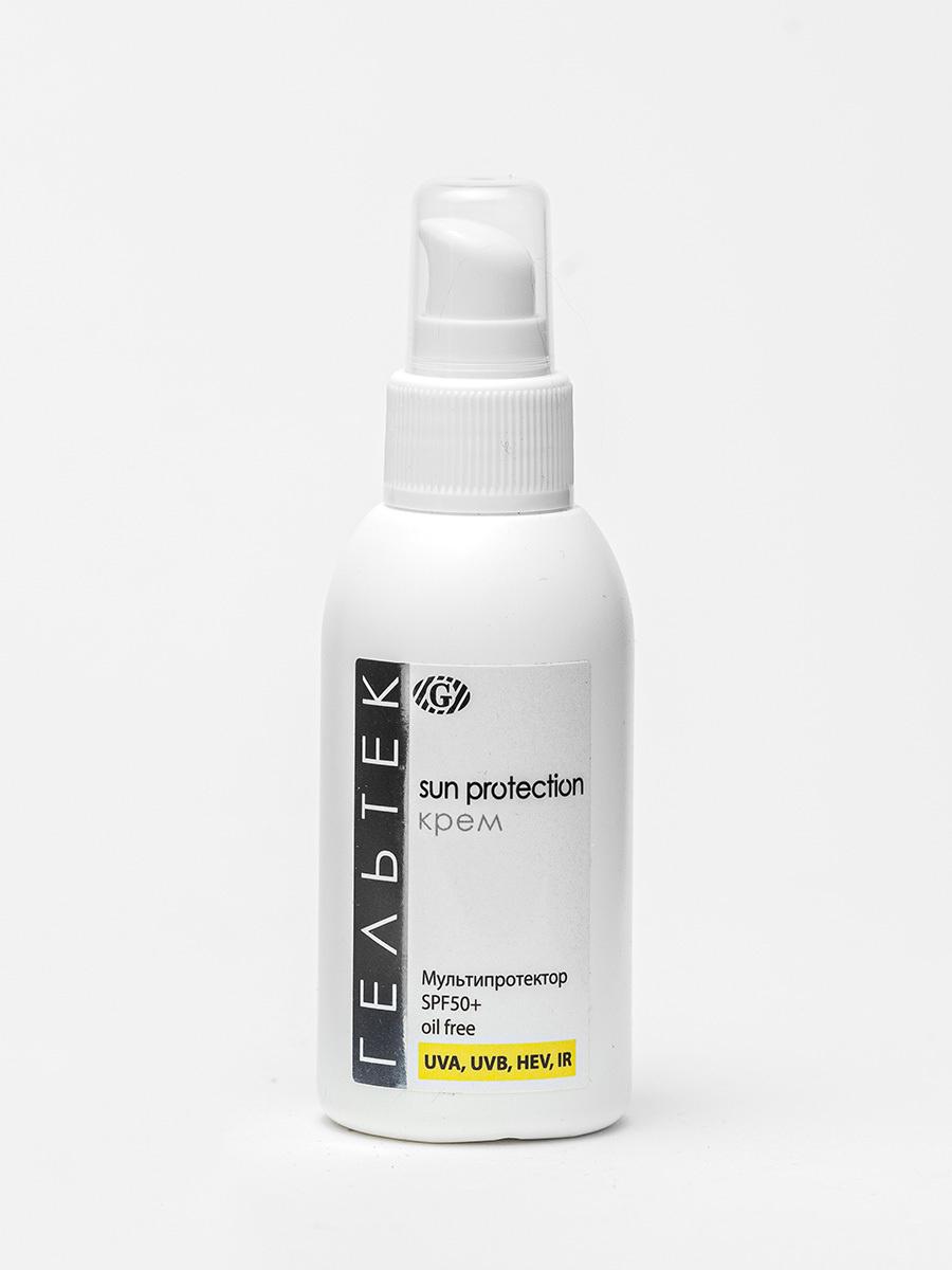 Гельтек Sun Protection SPF50+ крем Mультипротектор oil free солнцезащитный, 100 мл  #1