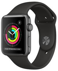 Умные часы Apple Watch Series3, 42mm, серый