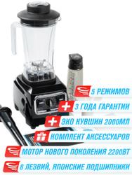 Стационарный блендер RAWMID Vitamin, черный. Блендеры для профи
