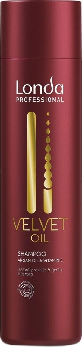 Шампунь Londa Professional Velvet Oil с аргановым маслом,250 мл