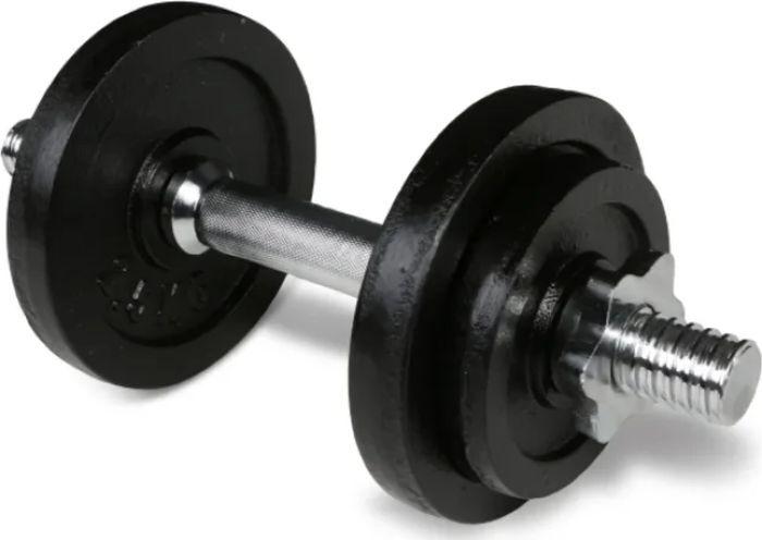 Гантель наборная Iron People IR92033, черный, 10 кг